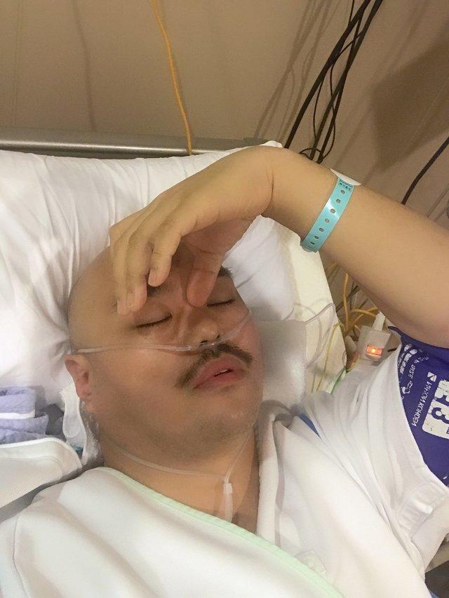 クロちゃん入院中Twitterの画像