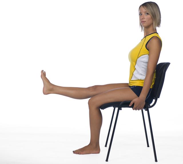 椅子に座ったエクササイズ